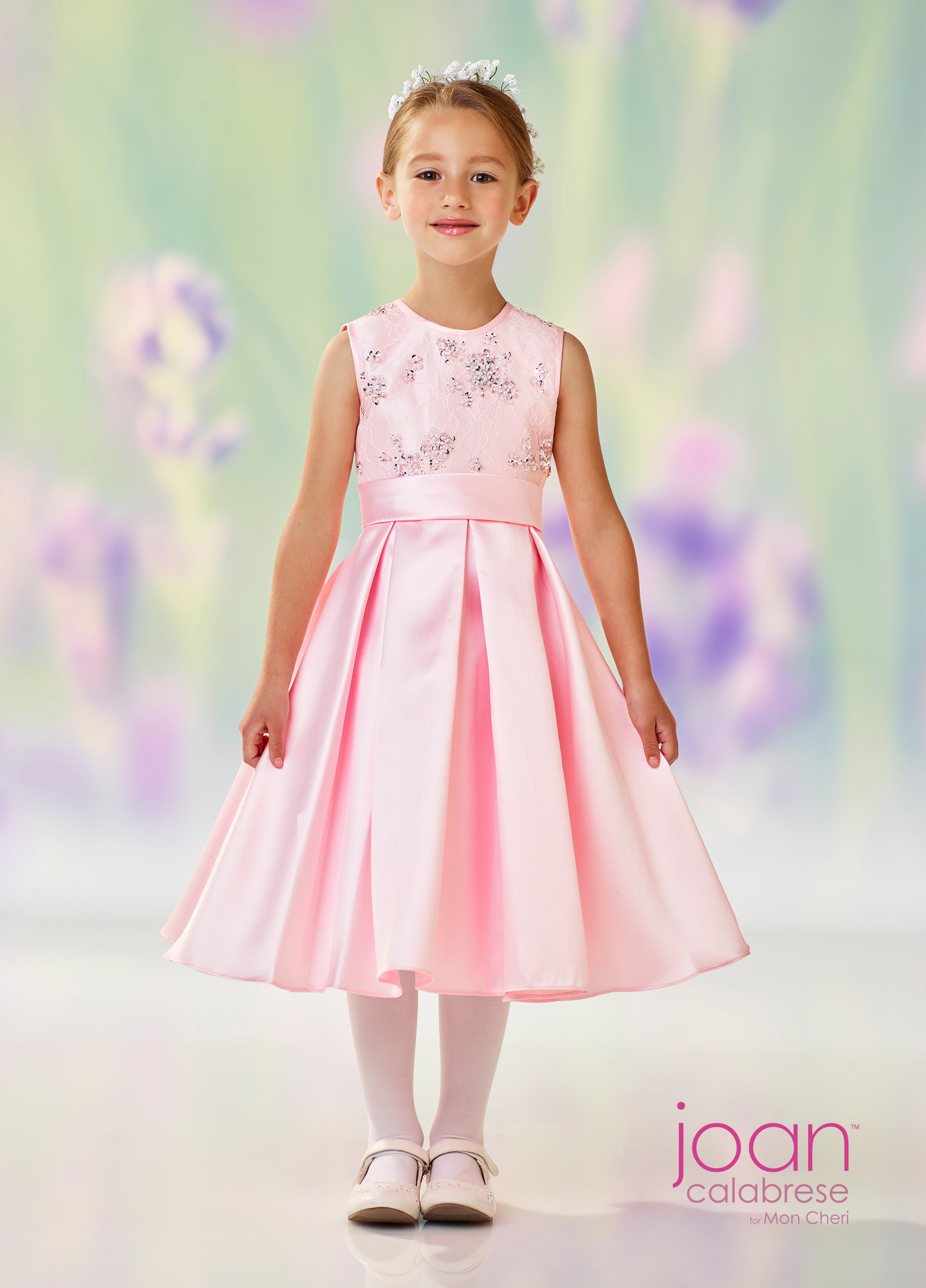 bac45ffed08 pink-flower-girl-dress-Joan-Calabrese-Mon-Cheri-118313 A - Dianes